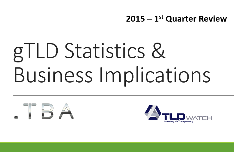 Q1 2015 gTLD Industry Stats_and_Biz_Implications